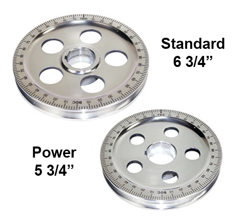 Stock Vs  Power Pulley  AIR-TECH